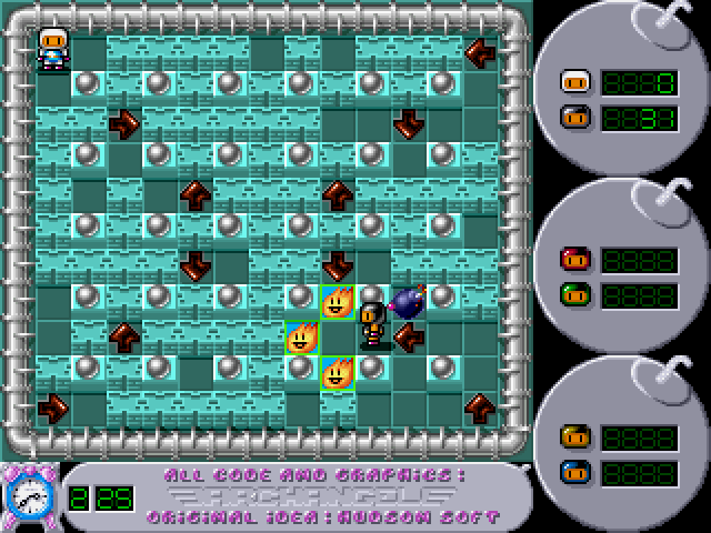 Super Bomberman [Falcon030] atari screenshot